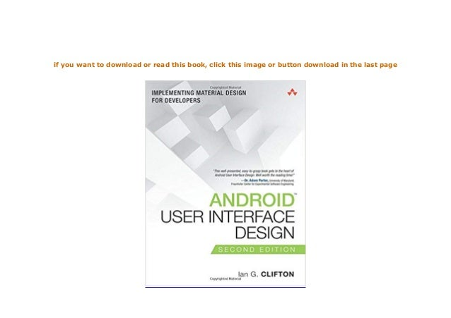 Download P D F Android User Interface Design Implementing Mate
