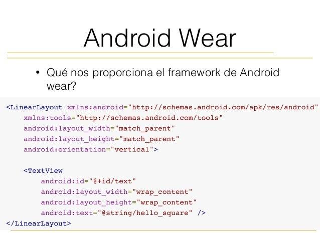 Android Wear para pincipiantes