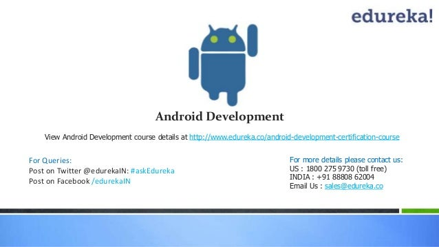 Webinar: Android Development - Using Android 5.0 Lollipop