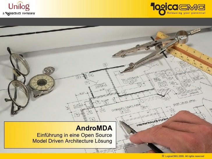AndroMDA Einführung in eine Open Source Model Driven Architecture Lösung