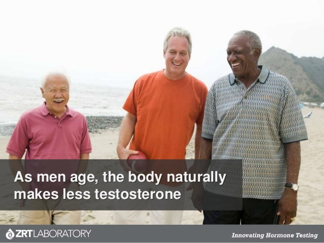 As men age, the body naturally makes less testosterone