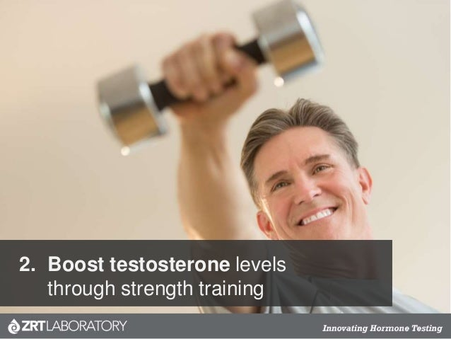 2. Boost testosterone levels through strength training