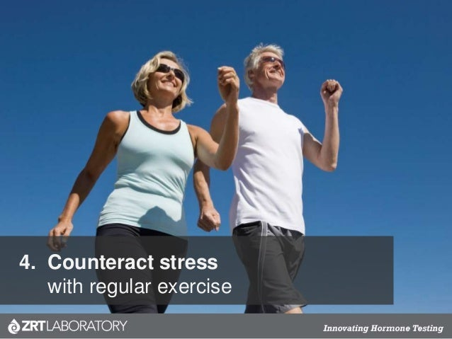 4. Counteract stress with regular exercise
