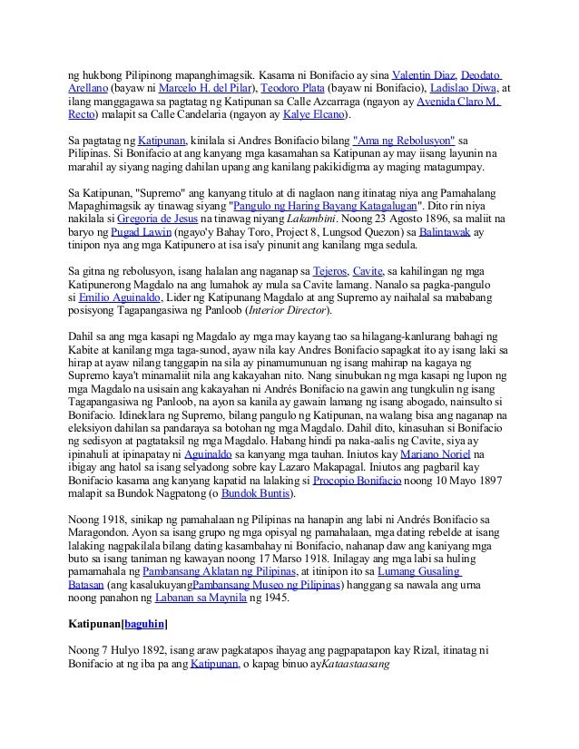 Bonifacio: Ang pagbangon ng isang bayani