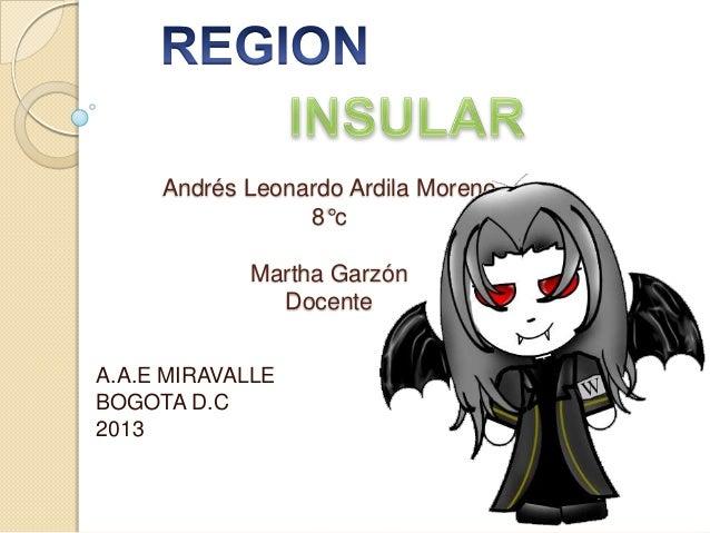Andrés Leonardo Ardila Moreno                 8°c            Martha Garzón              DocenteA.A.E MIRAVALLEBOGOTA D.C2013