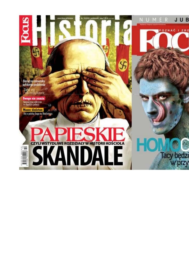 Andrzej Fedorowicz teksty magazyn Focus
