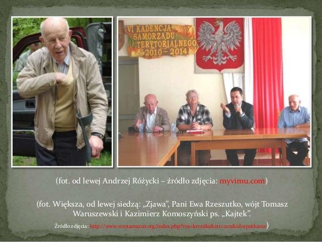 Andrzej różycki ps zjawa