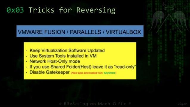 0x03 Tricks for Reversing