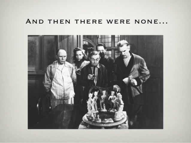 And then there were none...