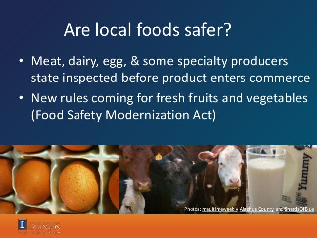 Andy Larson - Why Eat Local? Science-based answers to a not