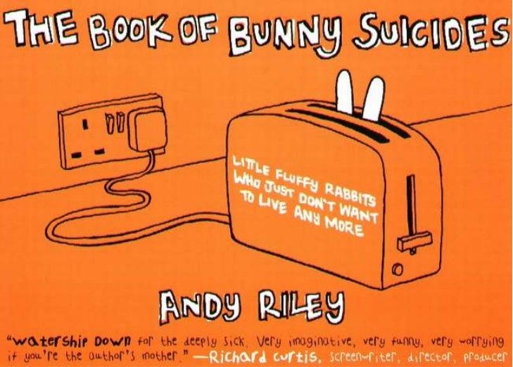 """Képtalálat a következőre: """"Andy Riley: The Book of Bunny Suicides"""""""
