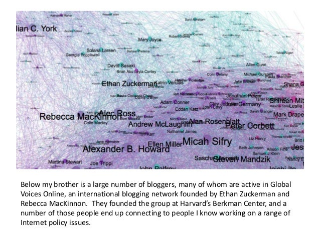 As we shift to the right, some of those people involved in Internet policy become tied specifically to Washington DC. Peop...