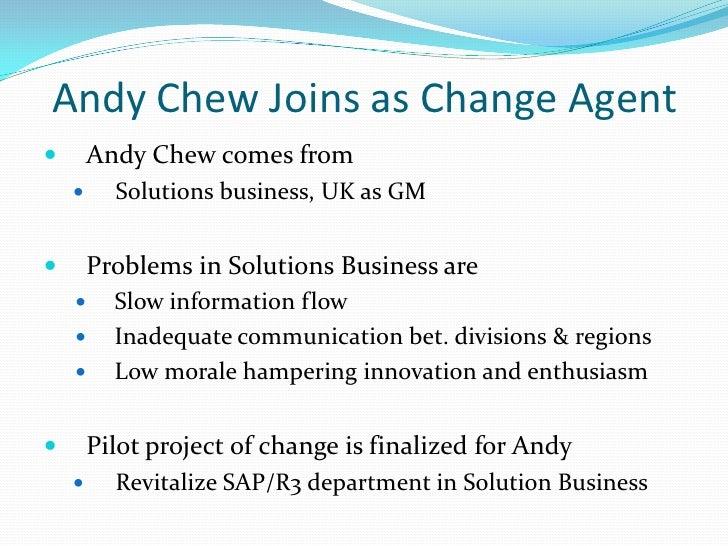 the change agent program at siemens nixdorf Häftad, 2008 den här utgåvan av organization development and change är slutsåld kom in och se andra utgåvor eller andra böcker av samma författare.