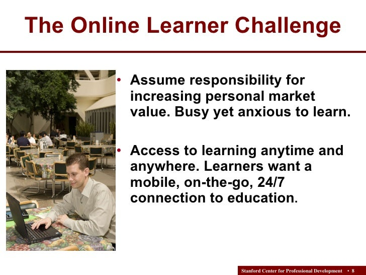 online learning challenges Students' experiences in online courses: laura burton, phd enhance the online learning environment and also the importance of student support systems the primary challenges of online courses are - technical challenges.