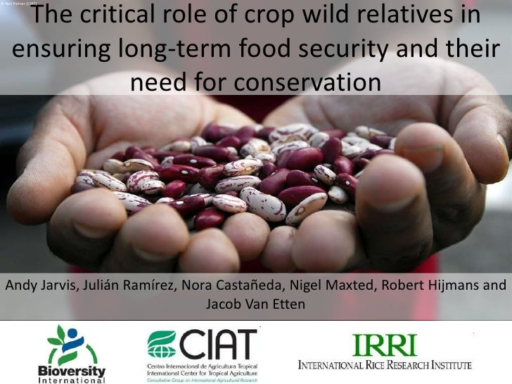 © Neil Palmer (CIAT)<br />The critical role of crop wild relatives in ensuring long-term food security and their need for ...