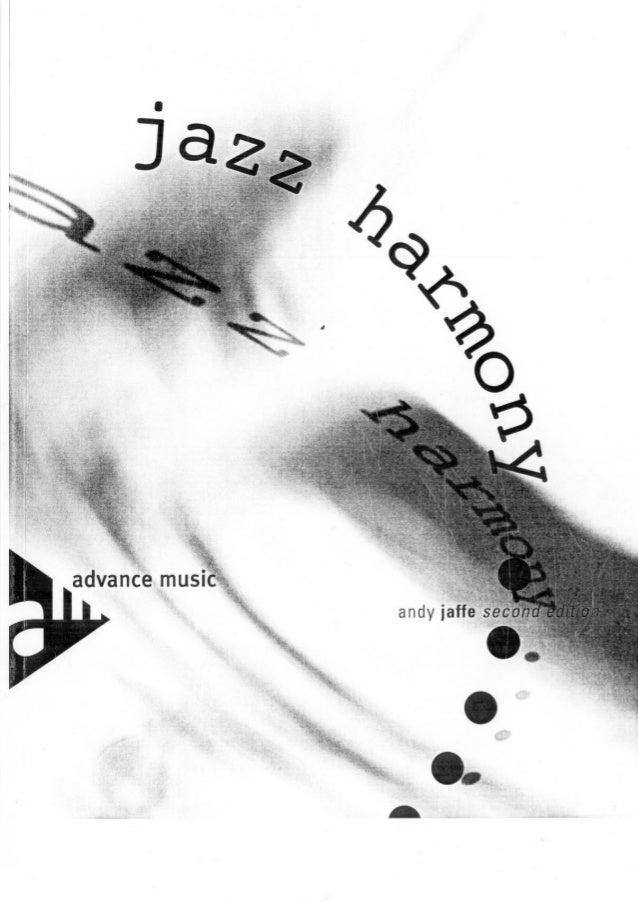 Andy jaffe jazz harmony