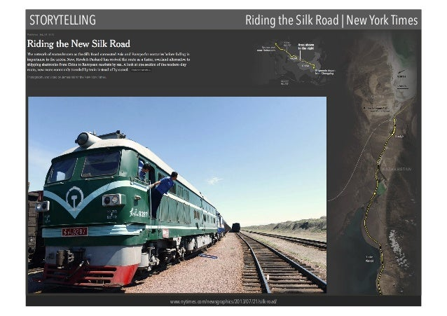 STORYTELLING  Riding the Silk Road | New York Times  www.nytimes.com/newsgraphics/2013/07/21/silk-road/