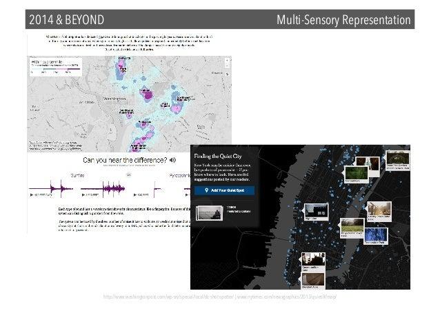 2014 & BEYOND  Multi-Sensory Representation  http://www.washingtonpost.com/wp-srv/special/local/dc-shot-spotter/ | www.nyt...