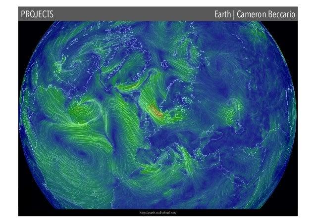 PROJECTS  Earth | Cameron Beccario  http://earth.nullschool.net/