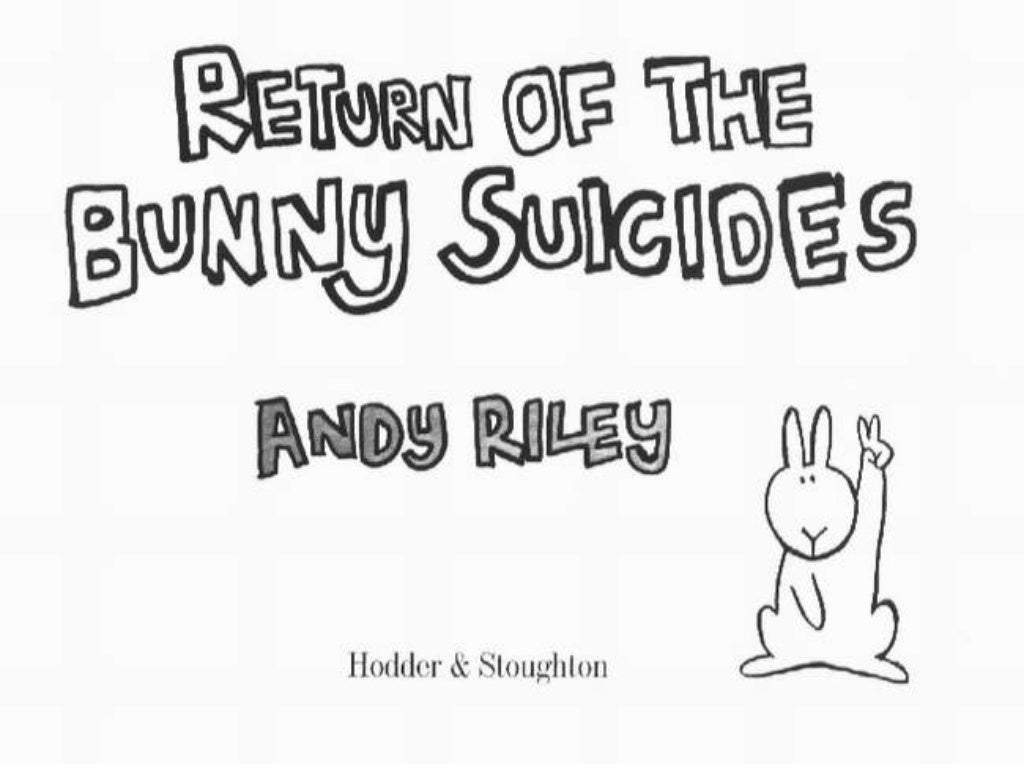 return of the bunny suicides pdf