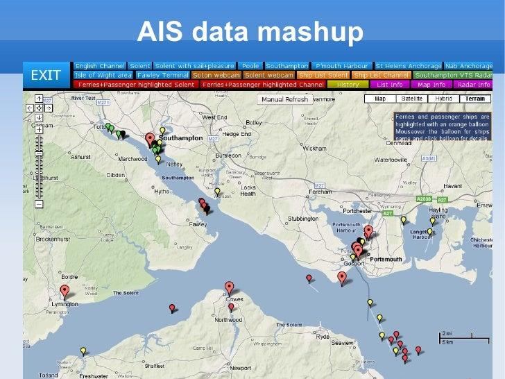 AIS data mashup