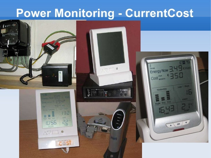 Power Monitoring - CurrentCost