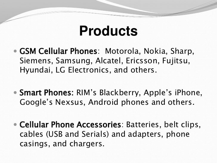 cell phone business plan