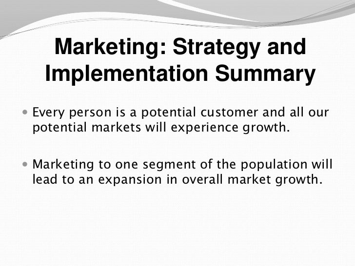 An Ebusiness plan sample presentation – Strategy Implementation Plan Template