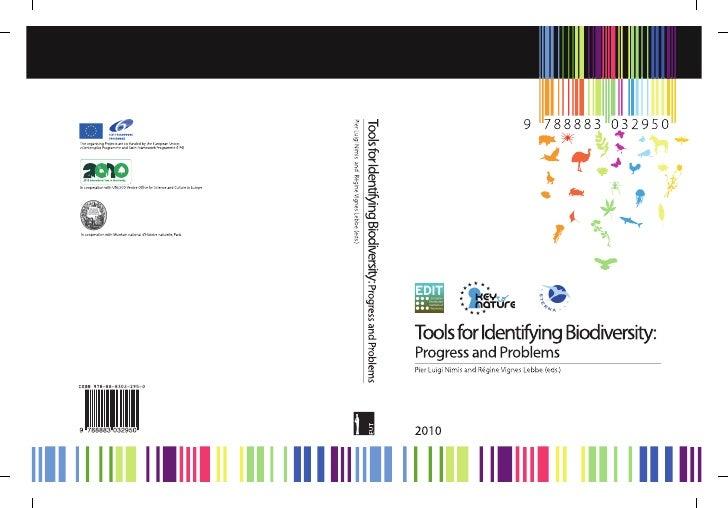 Tools for Identifying Biodiversity: Progress and Problems Pier Luigi Nimis and Régine Vignes Lebbe (eds.)