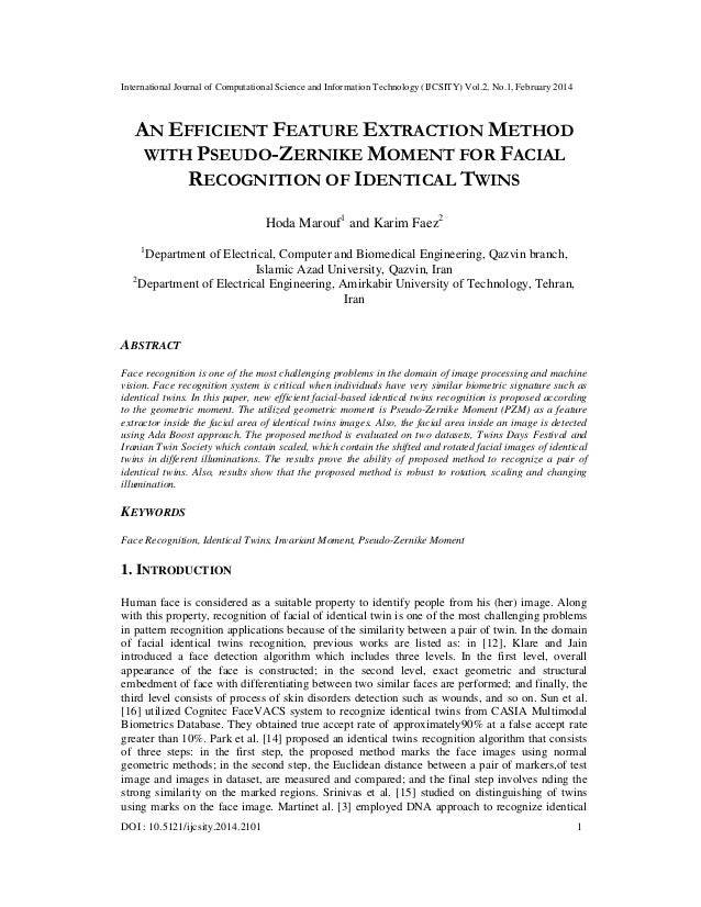 International Journal of Computational Science and Information Technology (IJCSITY) Vol.2, No.1, February 2014 DOI : 10.51...