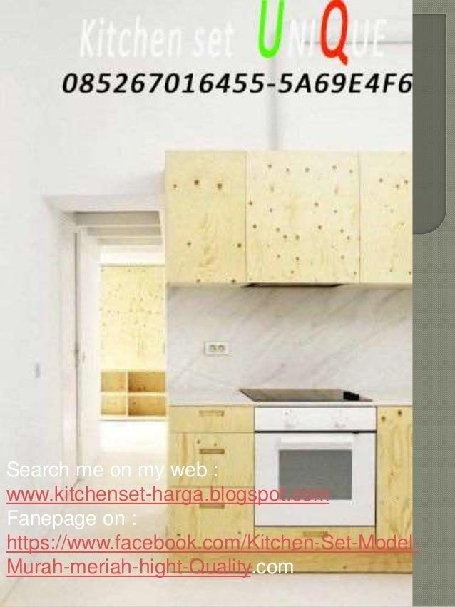 Aneka Kitchen Set Minimalis Harga Kitchen Set Sederhana Kitchen Set