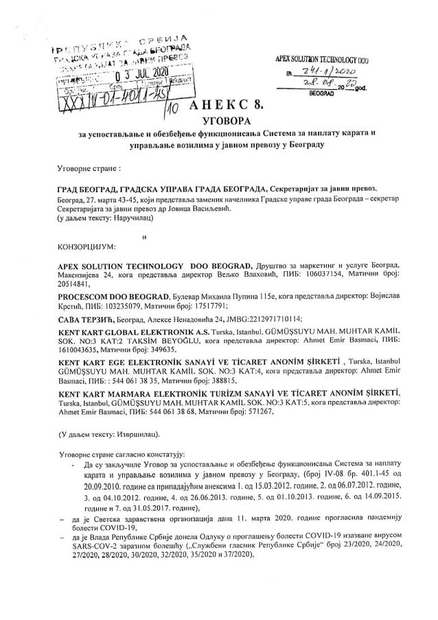 Aneks ugovora za bus plus Slide 3
