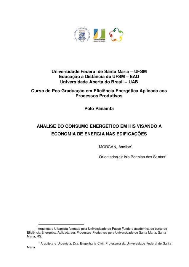Universidade Federal de Santa Maria – UFSM Educação a Distância da UFSM – EAD Universidade Aberta do Brasil – UAB Curso de...