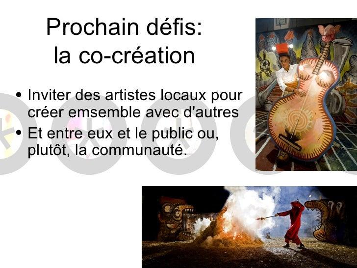 Proxaine défis:leducation artistique en réseauMUSICLab
