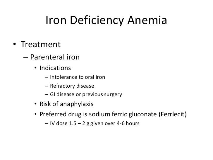 Diagnosing and treating iron deficiency anemia essay