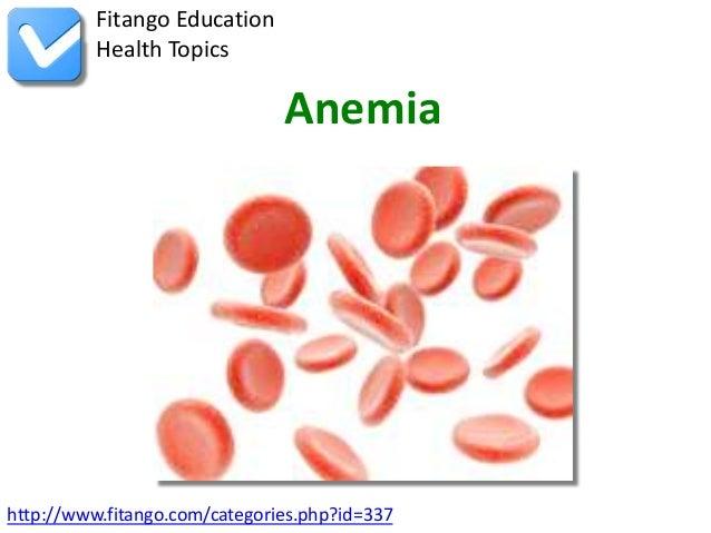 http://www.fitango.com/categories.php?id=337Fitango EducationHealth TopicsAnemia