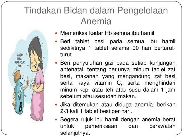 Anemia dalam kehamilan.