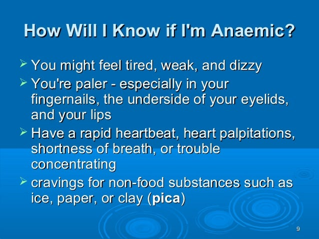 anemia in pregnancy thesis When you have iron-deficiency anemia (ida), the right information can help you have a healthy pregnancy find out the symptoms of ida, and how anemia affects.