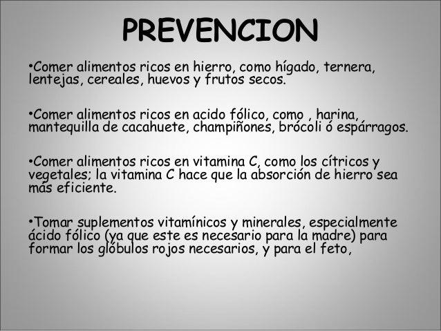 Anemia en el embarazo - Alimentos que contengan hierro para embarazadas ...