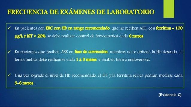 REACCIONES ADVERSAS - TOXICIDAD  El IST no debe ser superior a 50% y la ferritina sérica no debería ser mayor de 800 μg/L...
