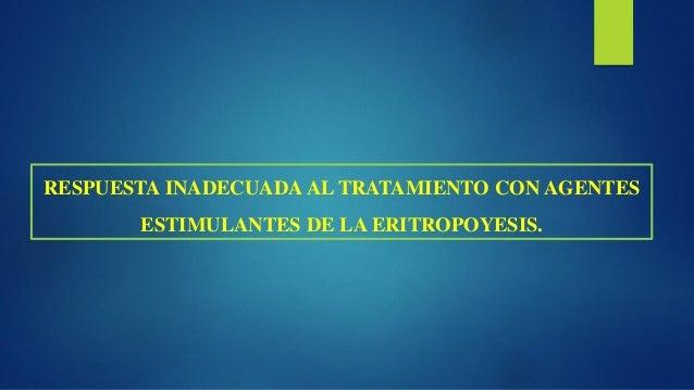 EFECTOS ADVERSOS DE LOS AGENTES ESTIMULANTES DE LA ERITROPOYESIS