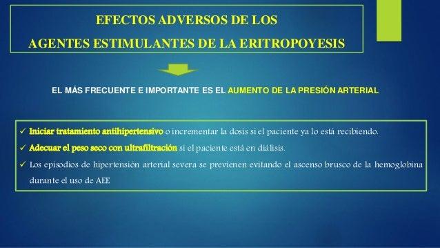  La transfusión de glóbulos rojos esta indicada en pacientes con repercusión hemodinámica, angina de pecho u otros signos...