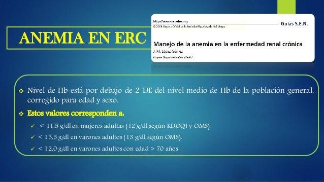 ANEMIA EN ERC J.E. Toblli et al / Dial Traspl. 2009;30(3):104-108