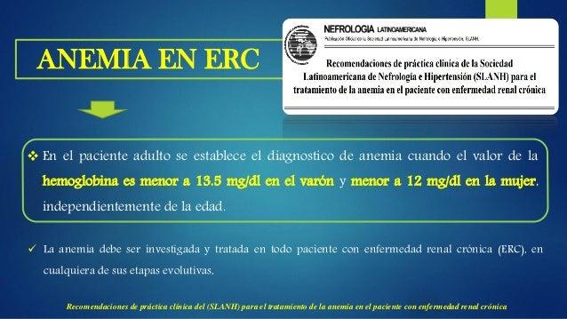 ETIOLOGIA DE LA ANEMIA EN ERC