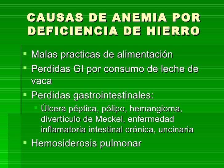 Hemosiderosis pulmonar
