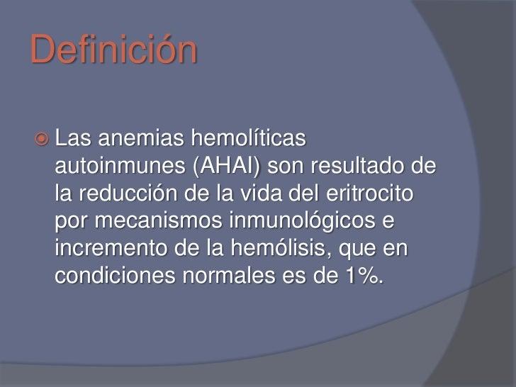 Anemias hemoliticas autoinmunes Slide 3