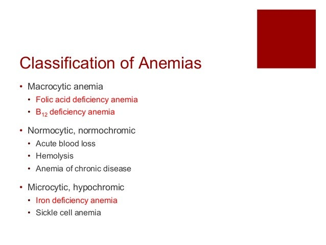 an introduction to the issue of anemia a deficiency of red blood cells or hemoglobin in the blood 17072017 iron deficiency anemia occurs when the body does not have enough  anemia occurs when you have a decreased level of hemoglobin in your red blood cells.