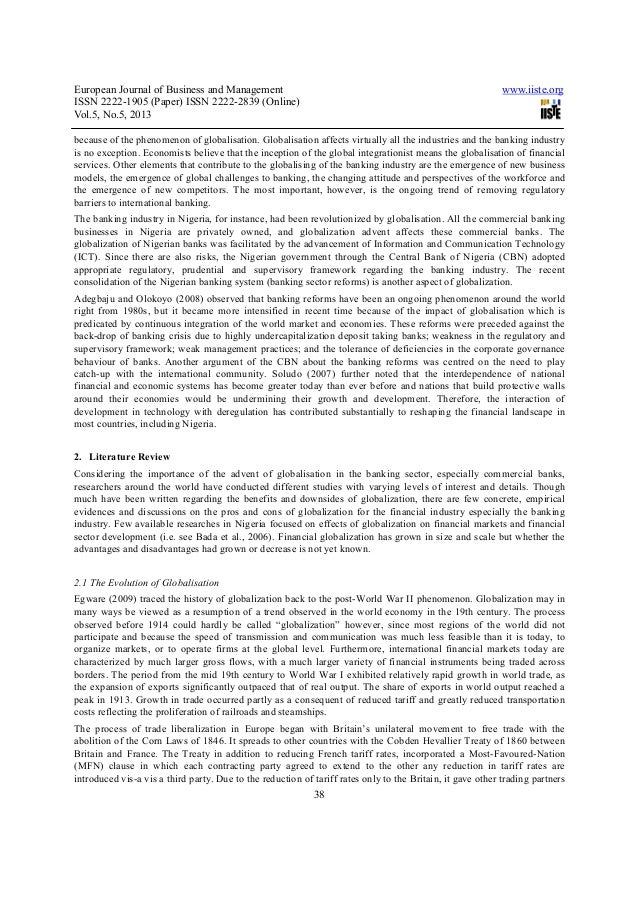 impact of computerization on the performance of nigerian banks Project topics in computer science department nigerian universities impact of  impact of technological innovation in commercial banks in kenya an  with the help of computer the time consumed in performing this operation reduced.