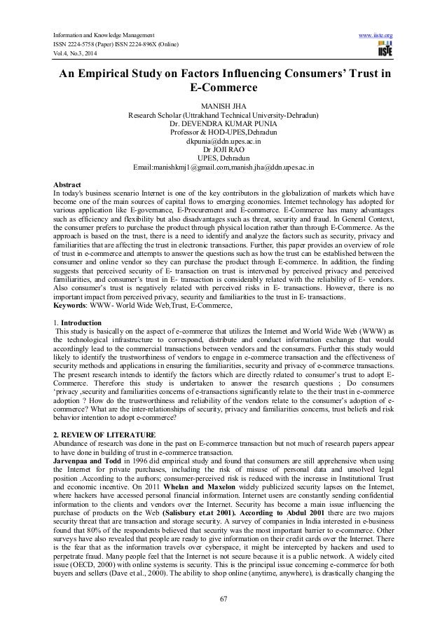 Information and Knowledge Management www.iiste.org ISSN 2224-5758 (Paper) ISSN 2224-896X (Online) Vol.4, No.3, 2014 67 An ...
