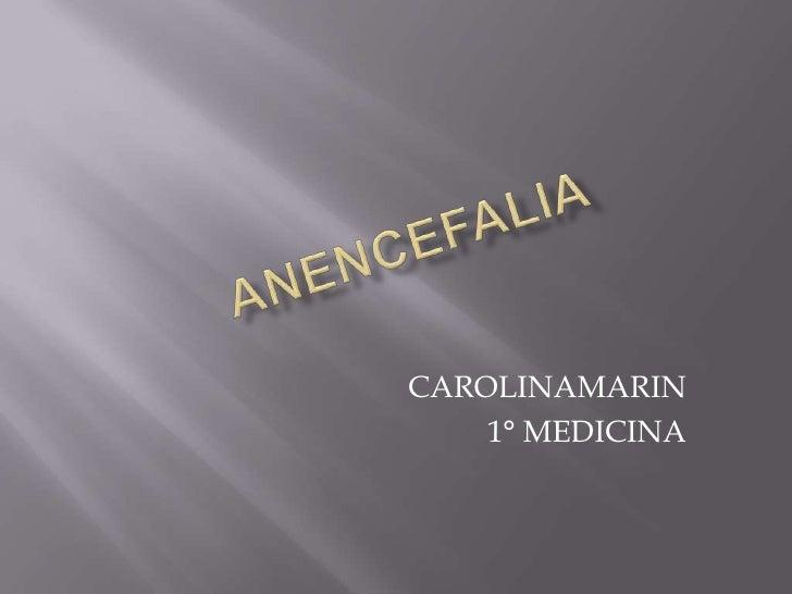 CAROLINAMARIN    1° MEDICINA